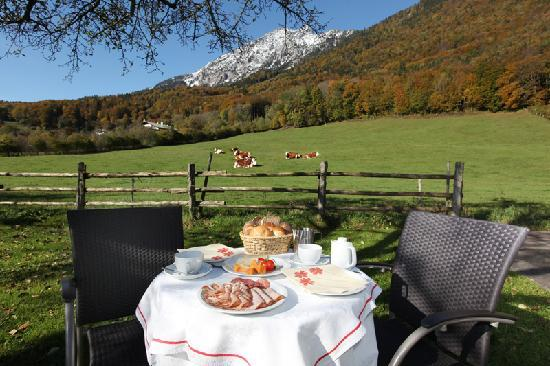 Hotel Gablerhof : Frühstück in Gesellschaft
