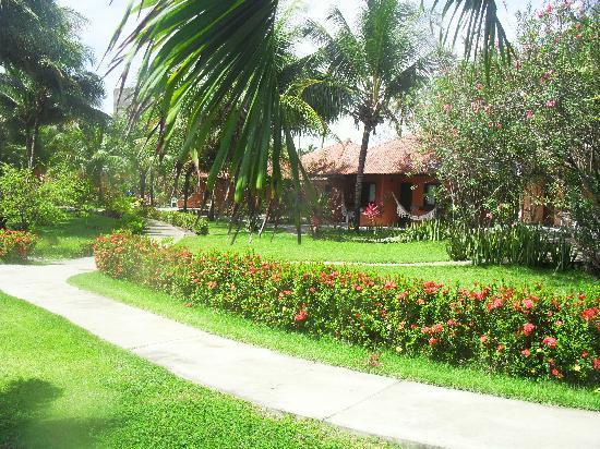 Jardin de las caba as frente al mar picture of pontal de for Cabanas para jardin