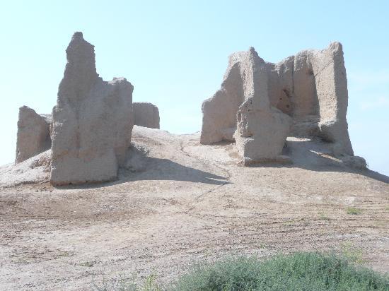 Mary, Turkmenistan: Die Kleine Kyz Kala