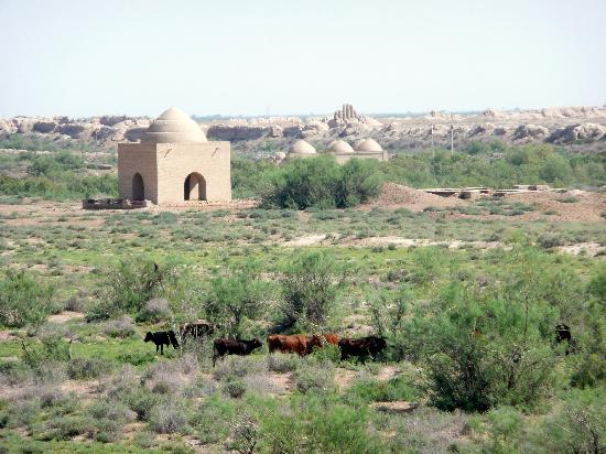 Mary, Turkmenistán: Blick über Merw