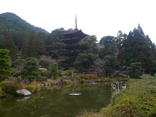 Ruriko Temple Five-Story Pagoda: 五重塔