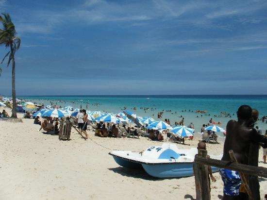 La Habana, Cuba: playa del este