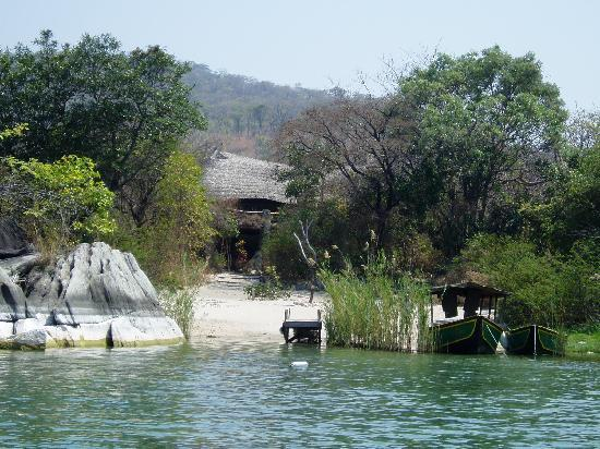 Lichinga, Mozambique: Boat entrance to the lodge
