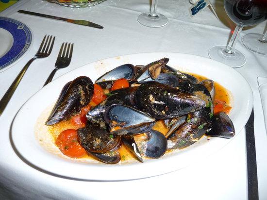 Chiarina A'Mmare : Frische Muscheln in köstlicher Sauce