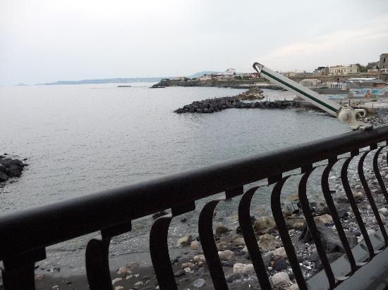 Chiarina A'Mmare : Terasse mit Meeresblick