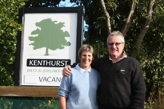 Kaka Point, Neuseeland: Your fantastic hosts John and Heather Hurst