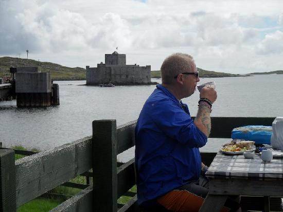 overlooking castlebay