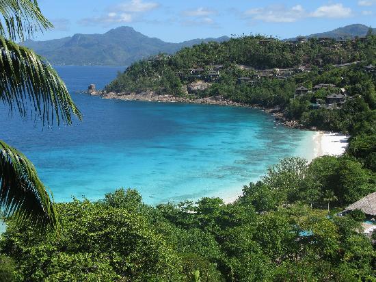 Four Seasons Resort Seychelles: view from Villa 416