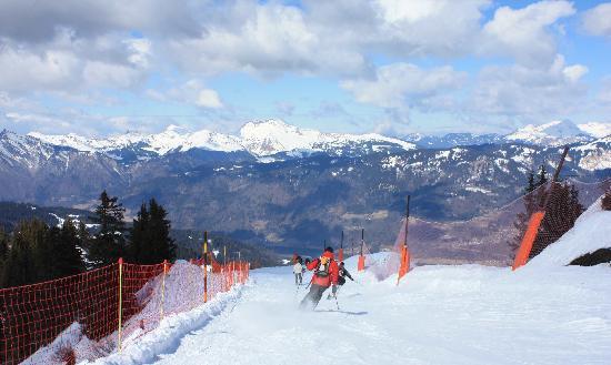 Chalets La Terrasse de Verchaix: The Grand Massif ski area