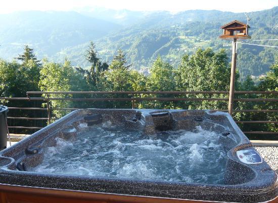 Chalet Hotel La Terrasse de Verchaix: Jacuzzi