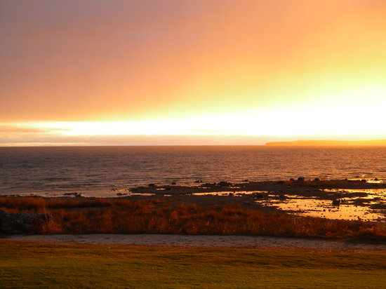 Saint Ignace, Мичиган: Enjoy a beautiful sunrise in St. Ignace