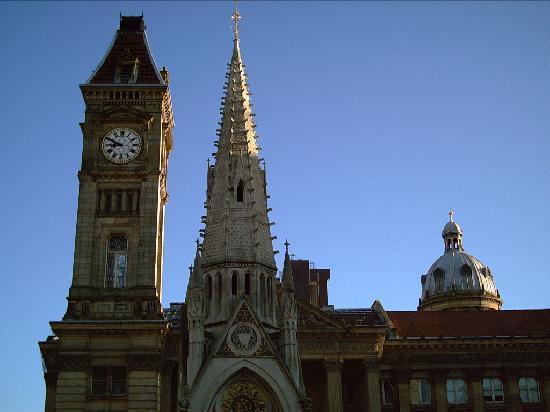 Birmingham, UK: Historische Skyline