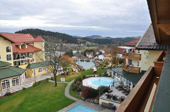Wellnesshotel Jagdhof: View from our balcony