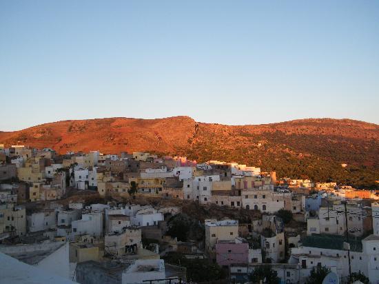 Dar KamalChaoui: Belle vue sur la terrasse