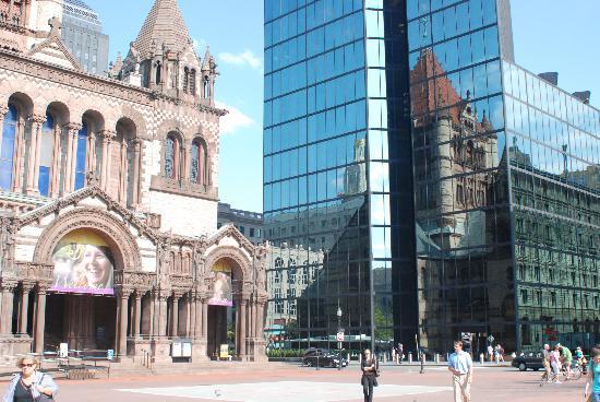 Les anciens et les modernes version Boston
