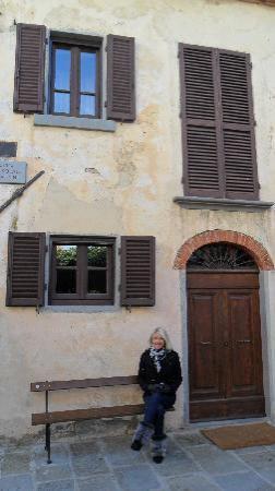 San Giustino Valdarno, Italie : The outside of our Apt.