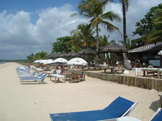Resort La Torre: FOTO DA PRAIA NATIVA