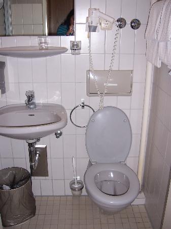 Hotel Christophorus: Bathroom