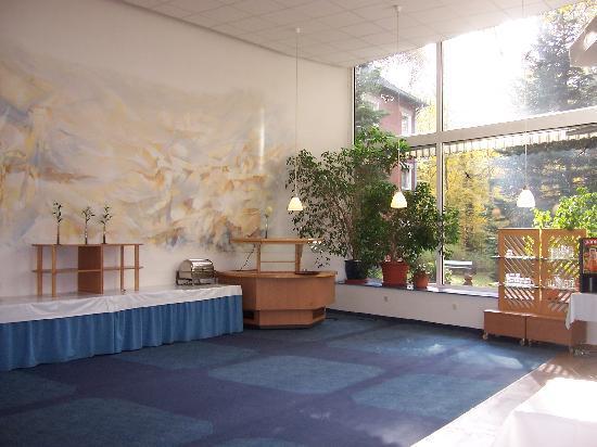 Hotel Christophorus: Dining room