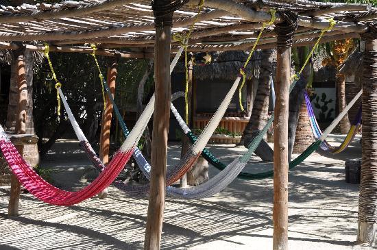 Hostel & Cabanas Ida y Vuelta Camping: Relax area