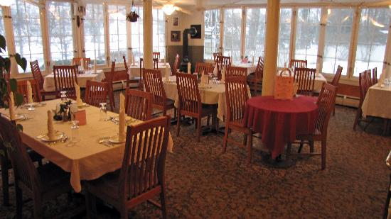 The Inn at Starlight Lake: Great dining & service