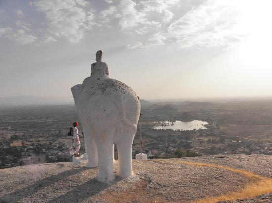 Rawla Narlai: Incredible views from the elephant walk