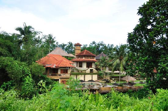 Hotel Villa-Ubud: View