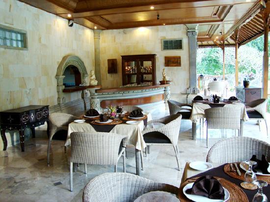 Hotel Villa-Ubud: Restaurant