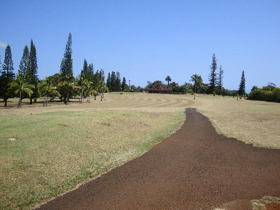 Kukuiolono Golf Course: 1st hole