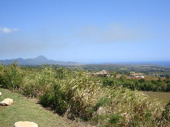 Kukuiolono Golf Course: Island view from the 7th tee