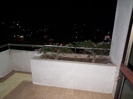 Nongkhai Grand Hotel's balcony