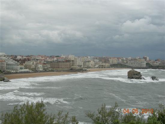 Biarritz desde el faro