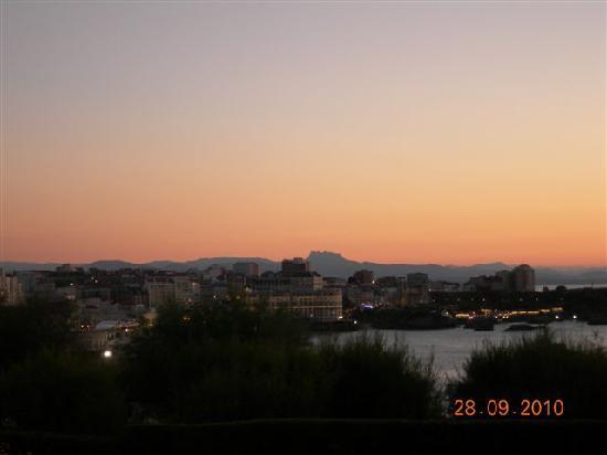Biarritz al atardecer