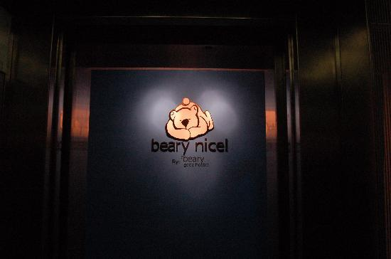 Beary Nice! by a beary good hostel: Beary Nice! lift entrance