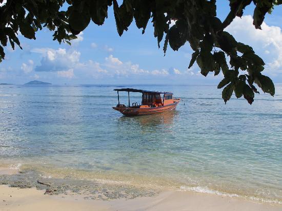 Bunaken Cha Cha Nature Resort: Front of Cha Cha