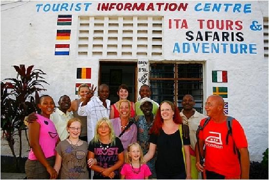 Ita-Tours-Safari & Adventure: Das Büro in Diani Beach/Kenya