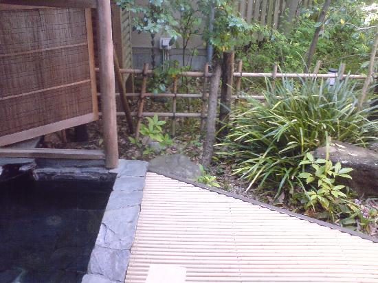 Nonohanatei Komurasaki: 部屋付きの露天風呂