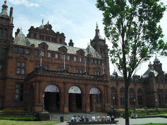 Glasgow, UK : Außenansicht
