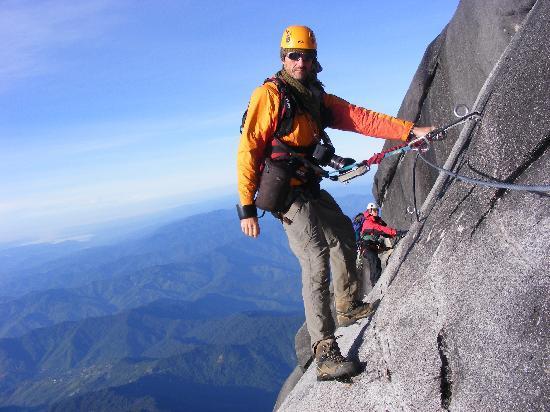 Mountain Torq: Hanging out on LPC via ferrata