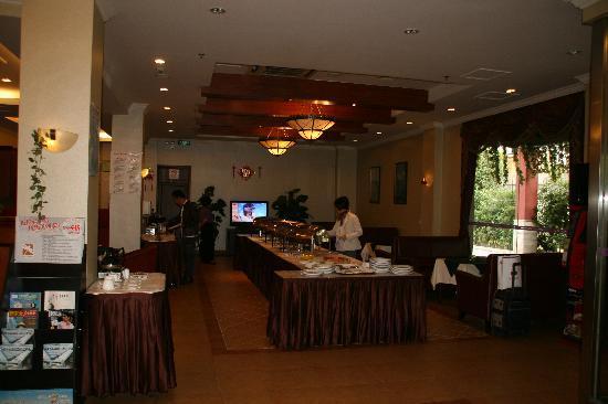 Hotel Carolina Shanghai Xinhua: Salle petit dejeuner