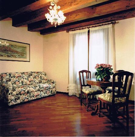 Hotel Piccola Fenice: living room