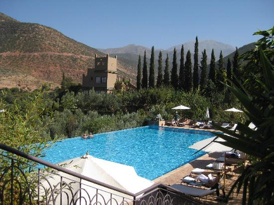 Kasbah Tamadot : The outdoor pool