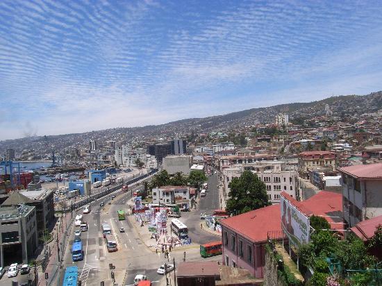 Valparaiso, Chile: Blick über die Stadt
