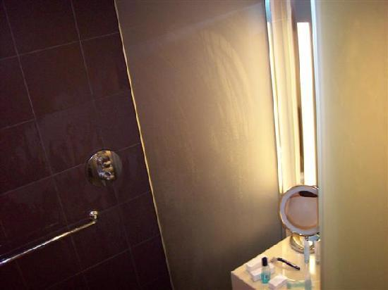 Hilton London Heathrow Airport: Smallest shower in northern hemisphere
