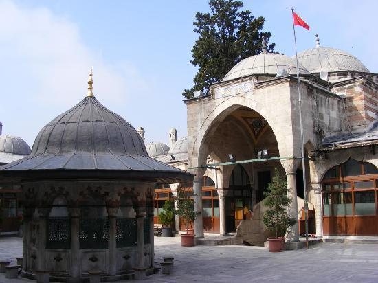 Ada Hotel Istanbul: Patio Mezquita Mehmet Pasa