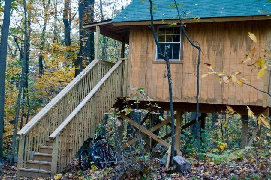 Maple Tree Campground: Our Tree House, sleeps up to 15 easily!