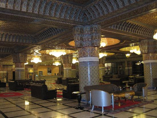 Royal Mirage Marrakech: Lobby for Al Kasr building