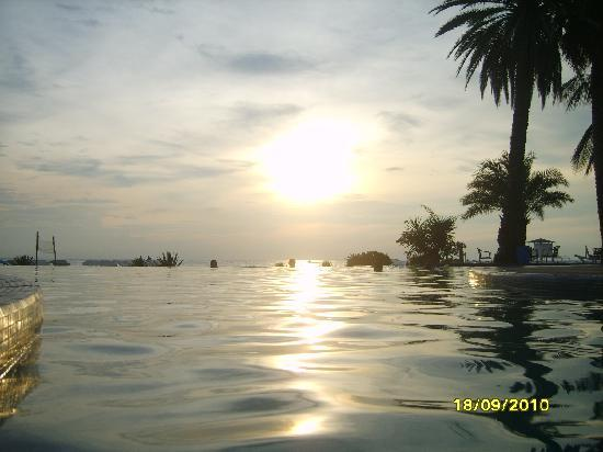 Hotel Coche Paradise : Se viene el atardecer en Coche !!!!