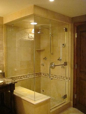 Hyatt Residence Club Grand Aspen: Steam shower