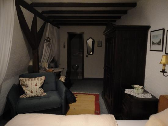 Hotel Meder: die Residenz am Rhein: Room 10, narrow but long and feels large